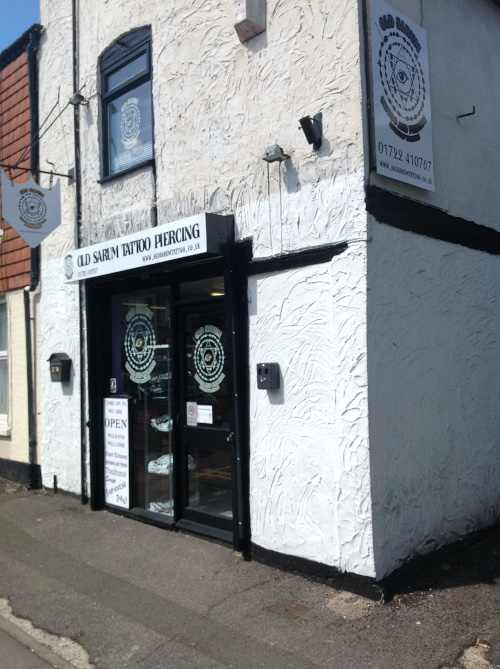 Welcome to Old Sarum Tattoo and Piercing Studio